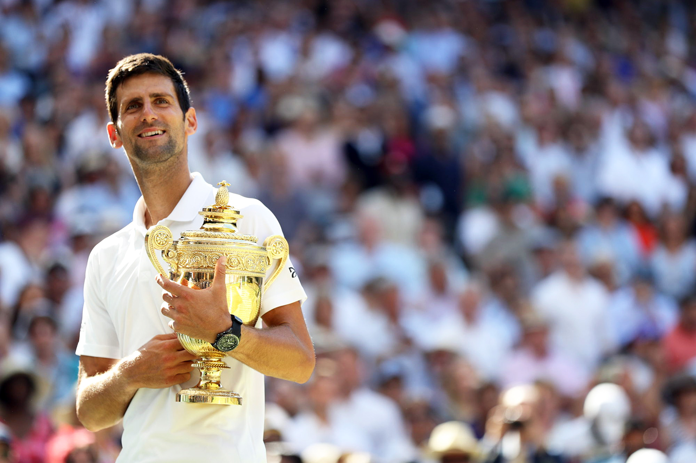 The Championships 2018. Held at The All England Lawn Tennis Club, Wimbledon. {iptcdate}. Credit: AELTC/Simon Bruty