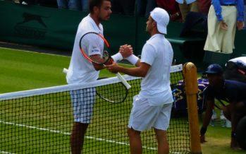 Wimbledon:  Tomas Fabbiano che vittoria