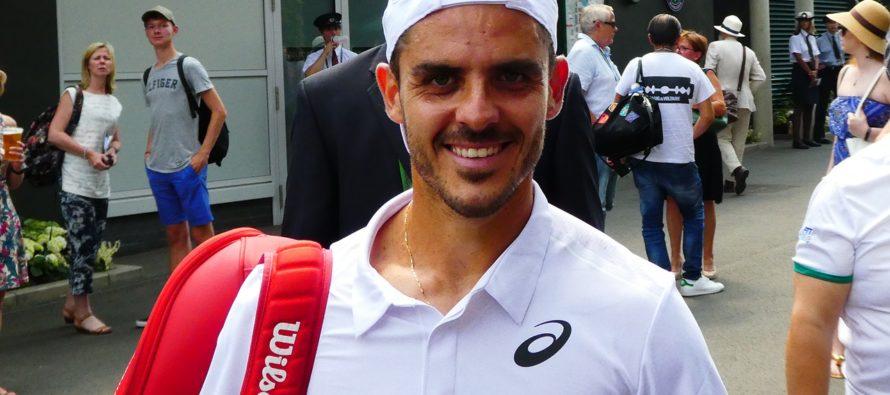 "Wimbledon:  Tomas Fabbiano ""Ho vinto una grande partita"""