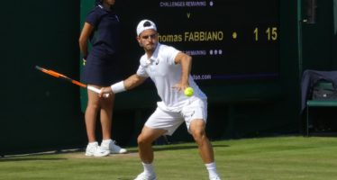 Wimbledon: Troppo forte Tsitsipas Fabbiano esce al 3° turno