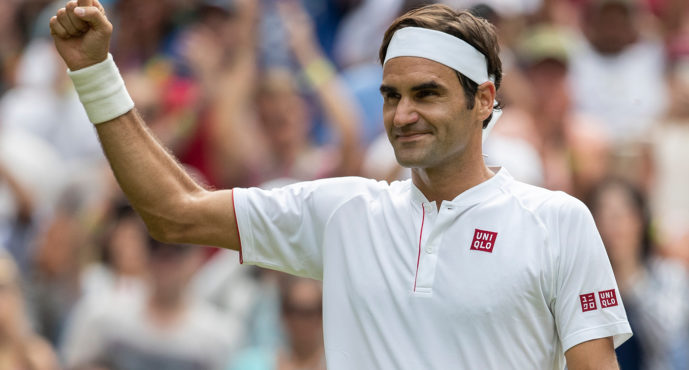 Roger Federer sigillo n°100