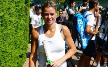 """Wimbledon: Camila Giorgi """"Ero sicura di portare a casa il match"""""""