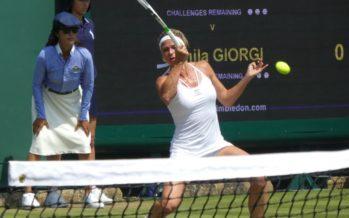 Wimbledon : Splendida Camila, batte la Makarova e vola ai quarti di finale