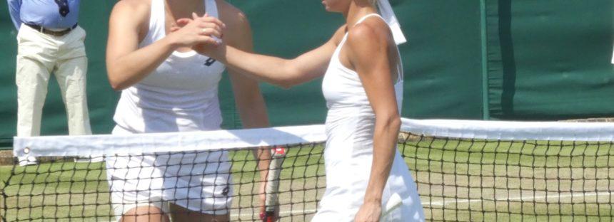 Wimbledon:  Camila Giorgi che rimonta contro la Siniakova