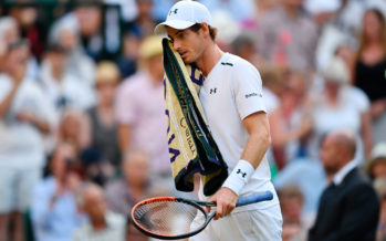 """WIMBLEDON : Andy Murray si ritira """"Non sono pronto per i cinque set"""""""