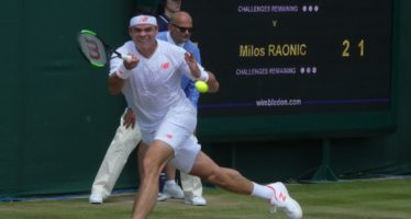 Wimbledon:  Milos Raonic due giorni e quattro set
