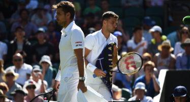 Wimbledon : Wawrinka risorge eliminato Dimitrov