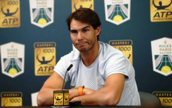 Rolex Paris Masters : Nadal forfait , Djokovic nuovo n°1