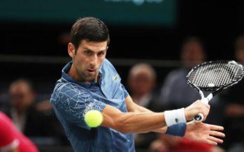 Rolex Paris Masters : Novak Djokovic buona la prima