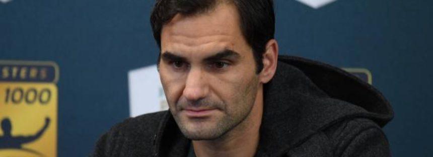 Rolex Paris Masters : Roger Federer conferma la sua presenza