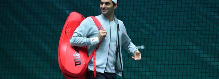 Rolex Paris Masters : Roger Federer avanti senza giocare