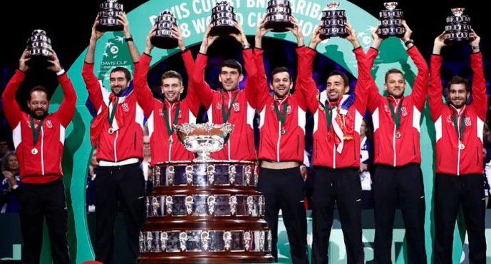 Coppa Davis : Francia Croazia 1-3 da Cilic il punto del trionfo