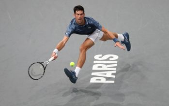 Rolex Paris Masters :  Djokovic senza fatica, Dzumhuir abbandona