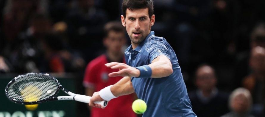 Rolex Paris Masters : Djokovic imperiale, ma Federer gli è vicino