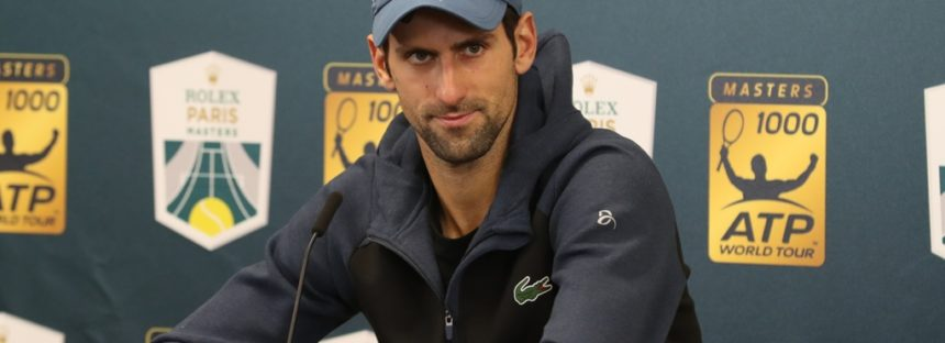 "Rolex Paris Masters : Novak Djokovic ""Karen ha giocato benissimo"""
