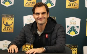 """Rolex Paris Masters :  Roger Federer """"Contento di essere a Parigi"""""""