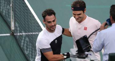 Rolex Paris Masters :  Federer troppo forte per Fognini