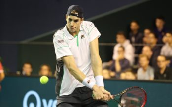John Isner re degli Ace in media 22 a partita