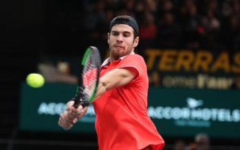 Rolex Paris Masters : Kachanov in finale a Bercy, THiem finita la benzina