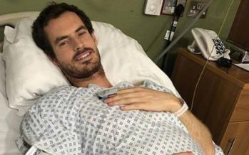 Andy Murray operato all'anca