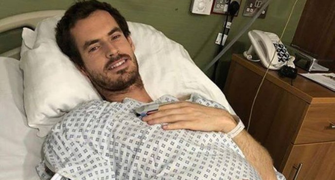 Andy Murray operato all'anca