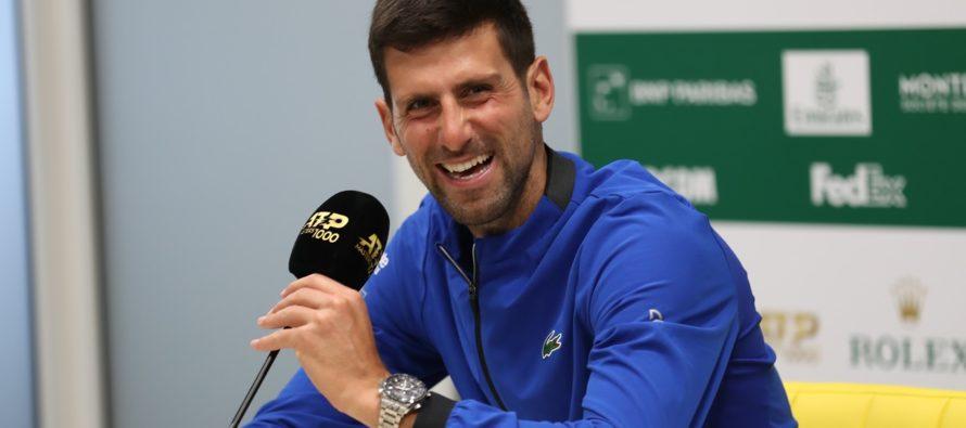 """ROLEX MONTE-CARLO MASTERS : Djokovic """"Rafa è il mio favorito"""""""