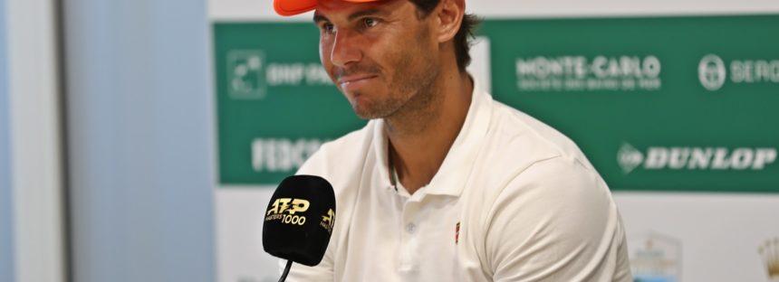 """ROLEX MONTE-CARLO MASTERS : Rafael Nadal """"Importante iniziare bene"""""""